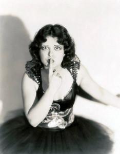 Clara BowShushing